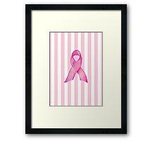 Pink Ribbon Donation Framed Print
