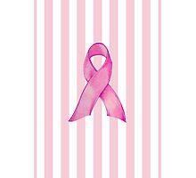 Pink Ribbon Donation Photographic Print