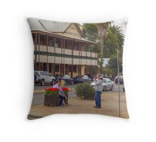 Nannup Hotel, Western Australia Throw Pillow