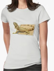 Out for a walk Womens Fitted T-Shirt