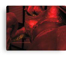 foil boobs Canvas Print