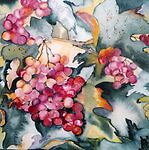 Grapes on the Vine by Marsha Woods