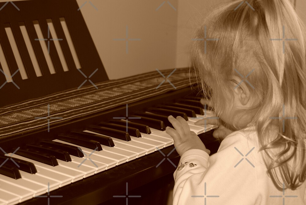 Young Musician by Maria Dryfhout