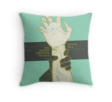 SHAPESHIFTING Throw Pillow