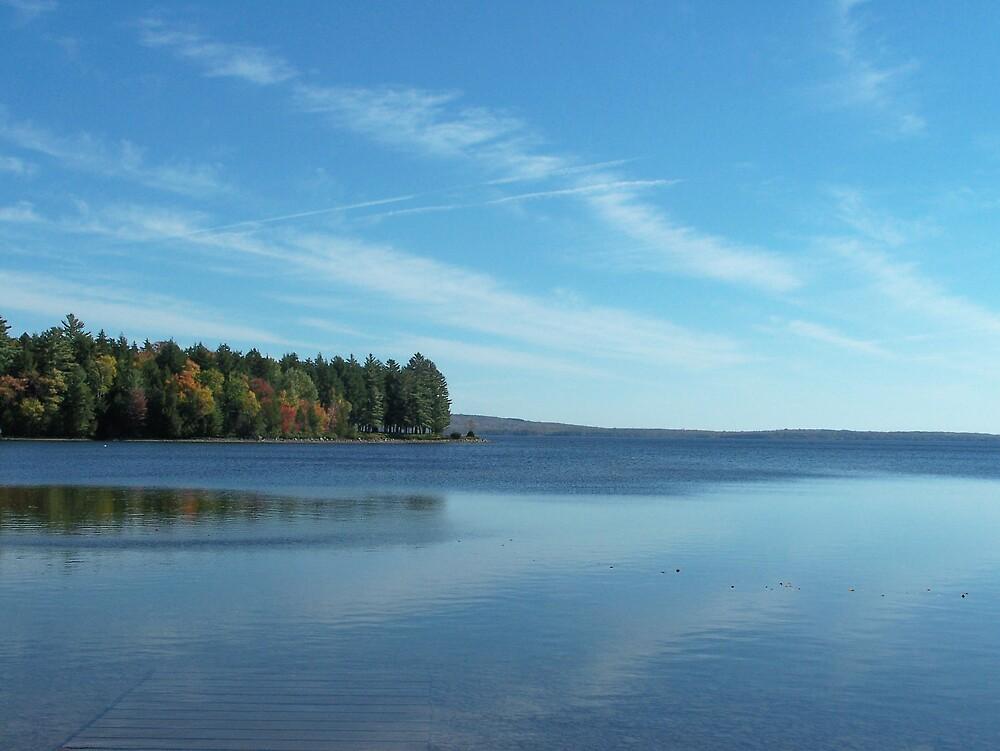 Blue Lake by Gene Cyr