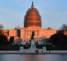 U.S. Capitol and Ulysses S Grant Memorial - Washington D.C. by Matsumoto