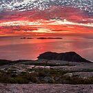 Mt Oberon Sunset by Travis Easton