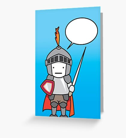 Silent Knight Greeting Card