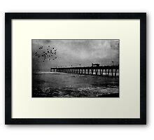 The Third Wave Framed Print