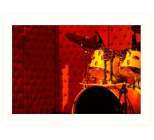 Where is the Drummer? Art Print