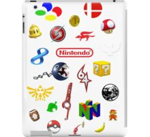 Nintendo collage iPad Case/Skin