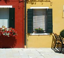 Doorways to Burano by ihancock