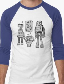 My Data? Robot Kid Men's Baseball ¾ T-Shirt