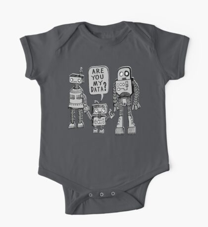 My Data? Robot Kid One Piece - Short Sleeve