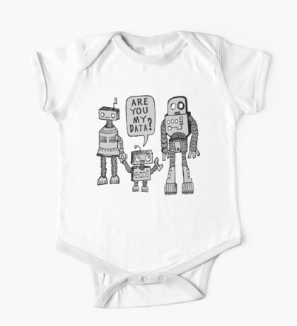 My Data? Robot Kid One Piece - Short Sleeve