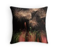 Fountains And Stars Throw Pillow