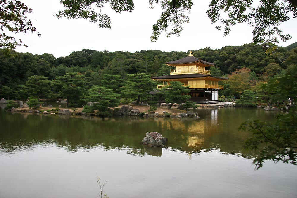 Kinkakuji temple - Golden Pavillion (Kyoto) by Trishy