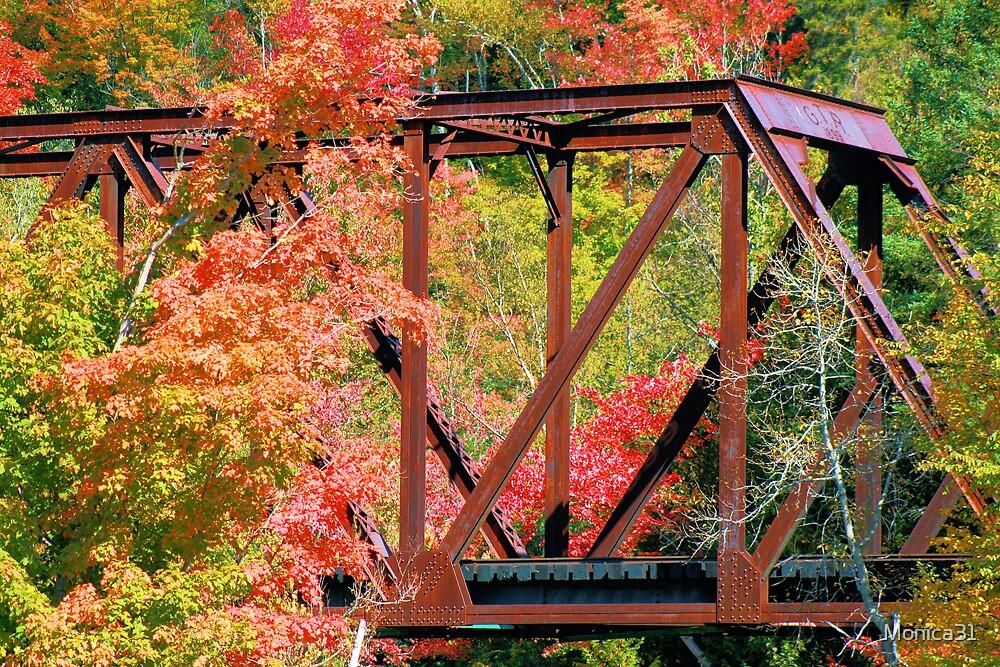old railroad bridge by Monica31
