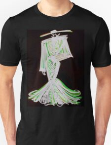 Painted Black Unisex T-Shirt