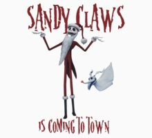 Sandy Claws Kids Tee