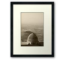 MESOPOTAMIAN PLAINS Framed Print