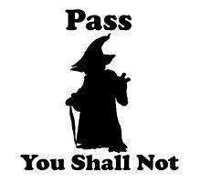 Yoda - Pass you shall not by Andre Keshishyan