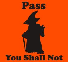 Yoda - Pass you shall not Kids Clothes