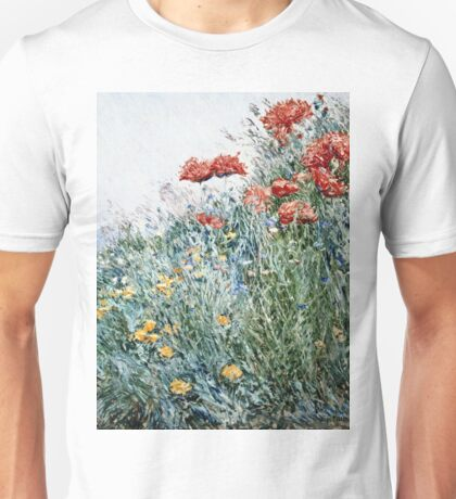 Childe Hassam - Poppies, Appledore Unisex T-Shirt