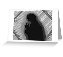 The Shadow Greeting Card