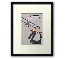 North by Northwest Framed Print