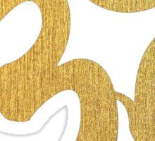 Golden Ohm Sticker