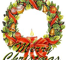 Christmas Wreath by Dorrie