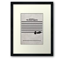 The Usual Suspects Framed Print