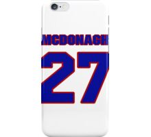 National Hockey player Ryan McDonagh jersey 27 iPhone Case/Skin