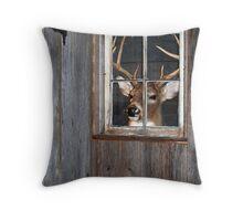 Buck Season Throw Pillow
