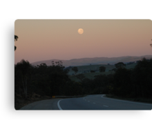 Empty Highway (Hume Highway, Australia 2009) Canvas Print