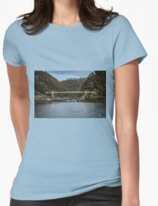 Cataract Gorge Tasmania Womens Fitted T-Shirt