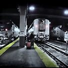 Train Platform - Union Station - Chicago  by Jack McCabe