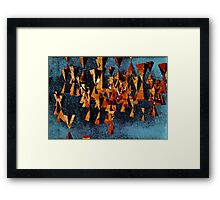 indifference engine Framed Print