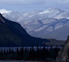 Muncho Lake, Canada by Crokuslabel