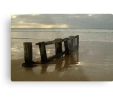 Pearl Morning Sunrise, Raffs Beach Metal Print