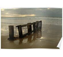 Pearl Morning Sunrise, Raffs Beach Poster