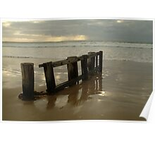 Pearl Morning Sunrise, Raffs Beach Poster