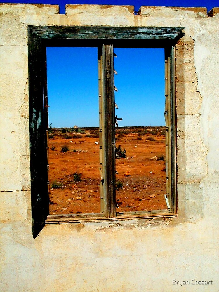 Silverton Window by Bryan Cossart