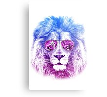 Tackle The Gazzle Says Mr. Lion Metal Print