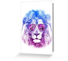 Tackle The Gazzle Says Mr. Lion Greeting Card