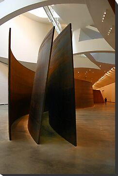 Richard Serra at the Guggenheim by Michele Roohani