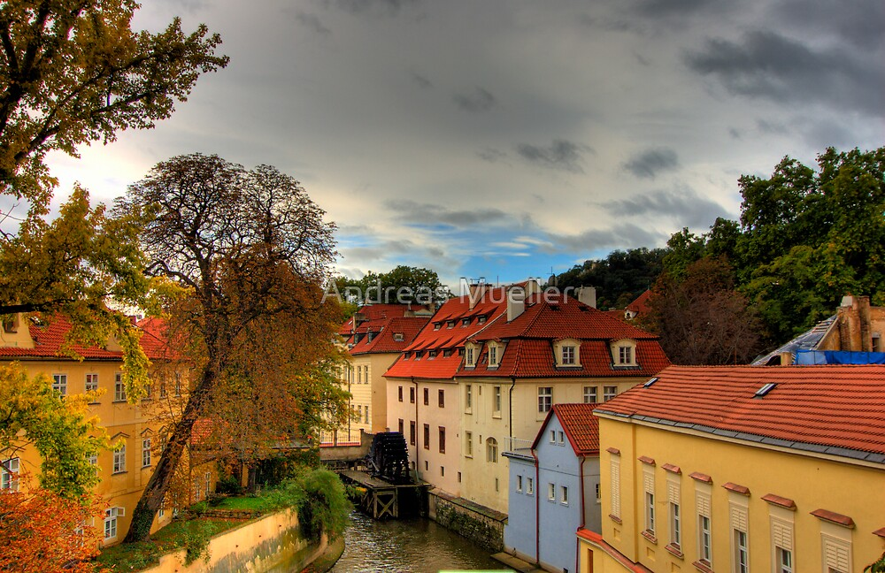 Prague Four (HDR) by Andreas Mueller