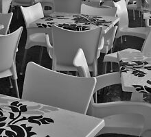 Tables and chairs by awefaul