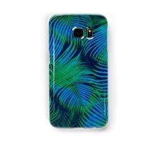 brazil palm tree graphic retro design pattern Samsung Galaxy Case/Skin